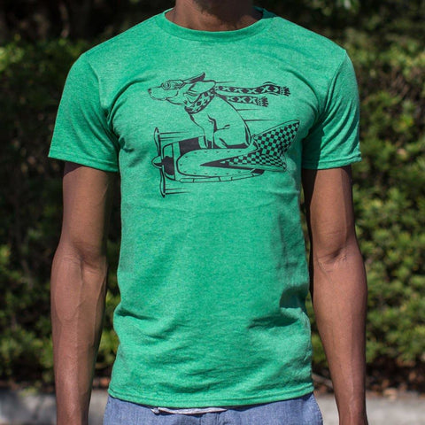 Canine Aviator T-Shirt Mens- Free Shipping