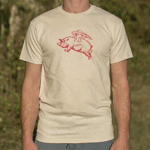 Mens Flying Pig T-Shirt