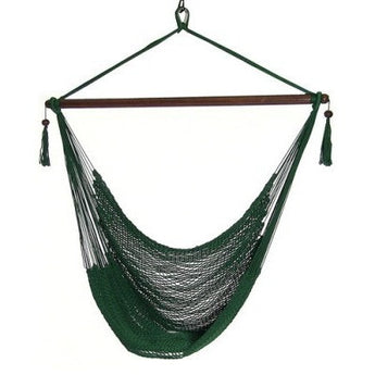 Sunnydaze Hanging Caribbean XL Hammock Chair- Multiple Colors Free Shipping