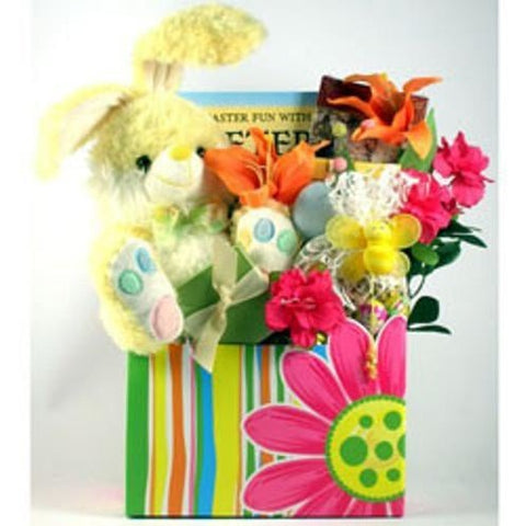 Hippity Hoppity Easter Gift Basket- Free Shipping
