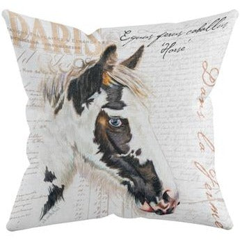 GYPSY HORSE THROW PILLOW by Redstreake Creative Living