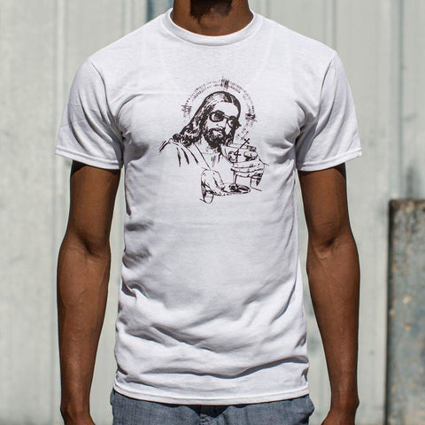 Mens Jesus Sunglasses T-Shirt