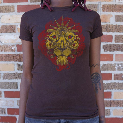 Leo The Lion T-Shirt Ladies- Free Shipping