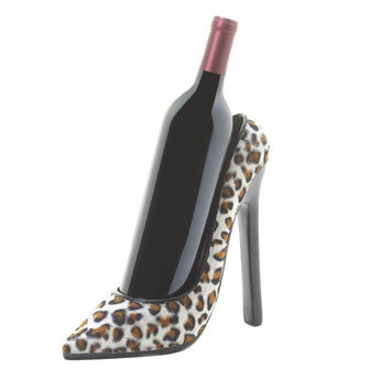 LEOPARD SHOE WINE HOLDER