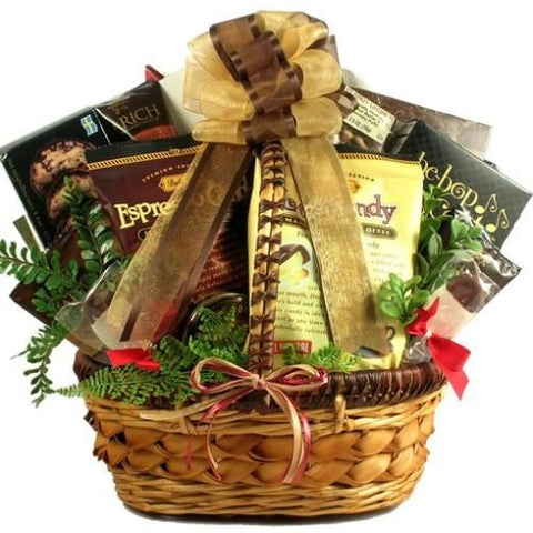 Coffee Break Deluxe Gift Basket- Free Shipping