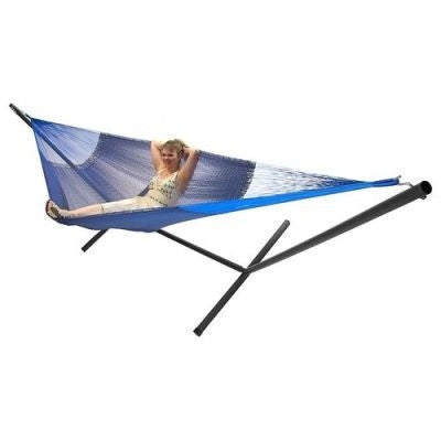 Sunnydaze Family Mayan Hammock and Stand Combo - Multiple Colors & Free Shipping