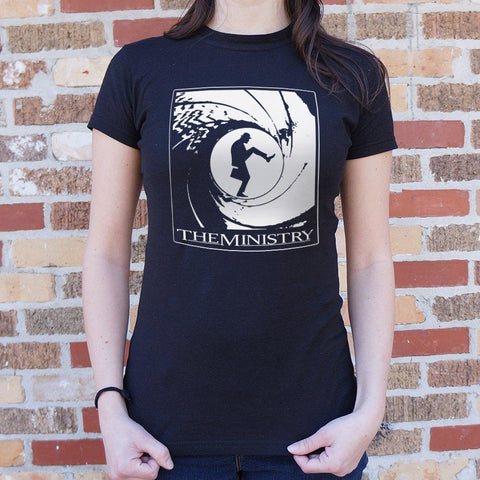 The Ministry of Silly Walks T-Shirt Ladies- Free Shipping