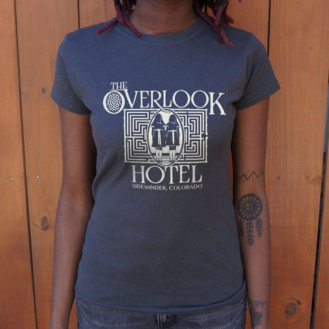 Overlook Hotel Sidewinder Colorado T-Shirt Ladies- Free Shipping