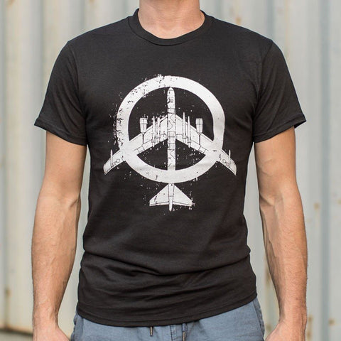 Mens Peace Bomber T-Shirt