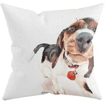 PHOTOBOMB THROW PILLOW by Redstreake Creative Living