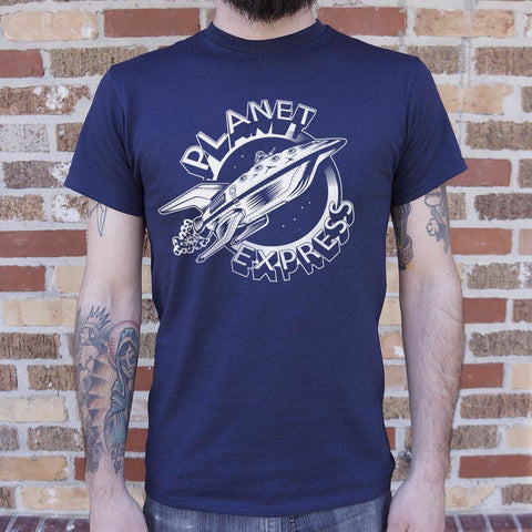 Mens Planet Express Spaceship T-Shirt