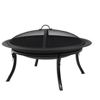 Sunnydaze Portable Camping Fire Pit & Carrying Case- Free Shipping