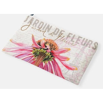 ECHINACEA ACCESSORY POUCH by Redstreake Creative Living