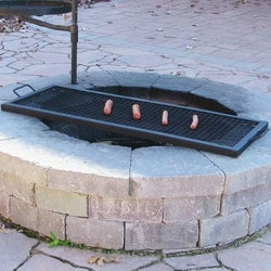 Rectangle Fire Pit Cooking Grill- Multiple Sizes