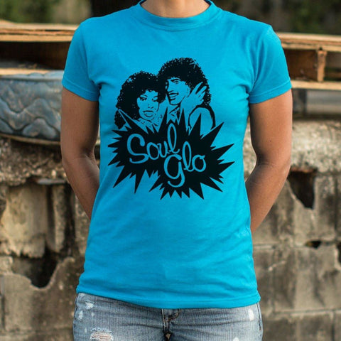 Soul Glo T-Shirt Ladies- Free Shipping