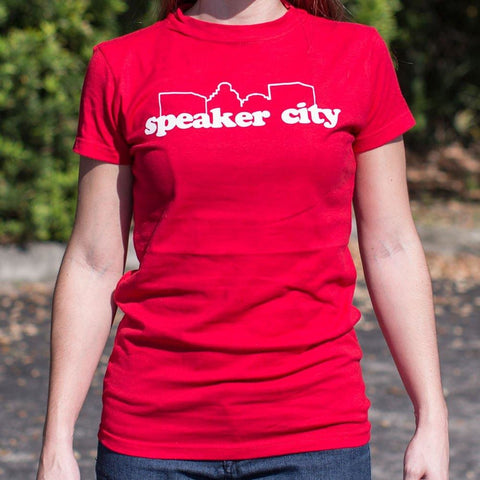Speaker City T-Shirt Ladies- Free Shipping