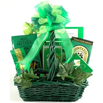 St. Patty's Day Snack Basket- Free Shipping