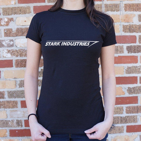 Stark Industries T-Shirt Ladies- Free Shipping