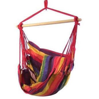 Hanging Hammock Swing by Sunnydaze Decor- Multiple Colors