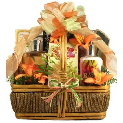 An Island Getaway for Mom Tropical Gift Basket- Free Shipping