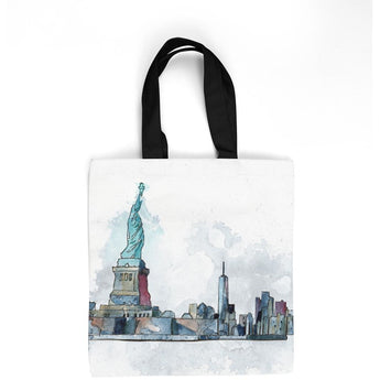 LIBERTY TOTE BAG by Redstreake Creative Living- Multiple Sizes
