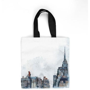 NEW YORKER TOTE BAG by Redstreake Creative Living- Multiple Sizes