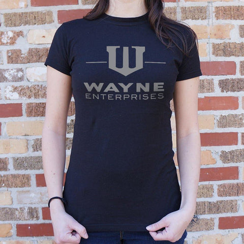Wayne Enterprises T-Shirt Ladies- Free Shipping