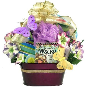 For A Wonderfully Wacky Woman Gift Basket- Free Shipping