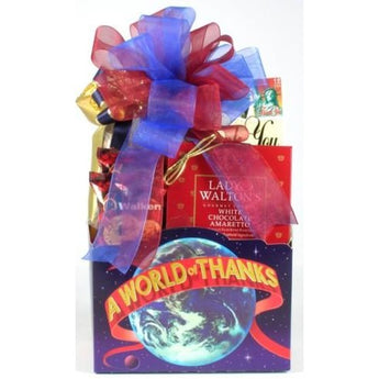 A World Of Thanks Gift basket