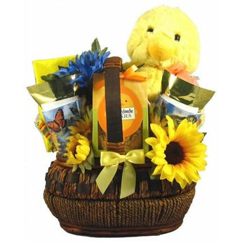 You Quack Me Up Easter Basket- Free Shipping