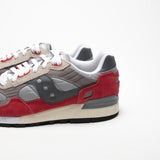 SAUCONY SHADOW 5000 ORIGINALS GREY/RED - Sneaker Pumps