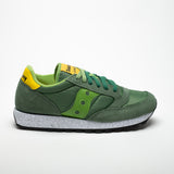 SAUCONY JAZZ ORIGINALS GREEN/YELLOW - Sneaker Pumps
