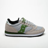 SAUCONY JAZZ ORIGINALS GREY/GREEN - Sneaker Pumps
