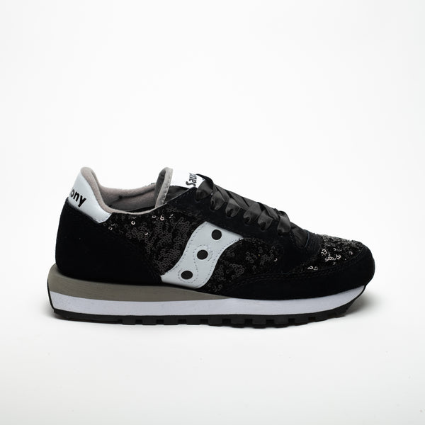 SAUCONY JAZZ ORIGINALS BLACK/WHITE - Sneaker Pumps