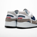 SAUCONY SHADOW 6000 ORIGINALS WHITE/GREY/BLU NAVY - Sneaker Pumps