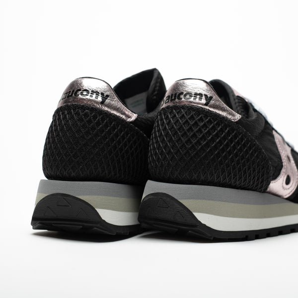 SAUCONY JAZZ TRIPLE ORIGINALS BLACK/PINK - Sneaker Pumps