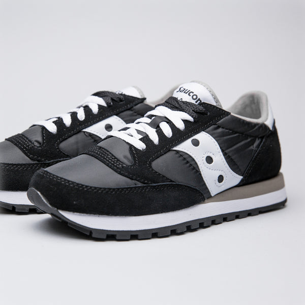 SAUCONY JAZZ ORIGINAL BLACK/WHITE - Sneaker Pumps