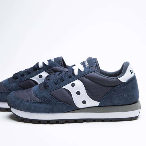 SAUCONY JAZZ ORIGINAL NAVY/WHITE - Sneaker Pumps