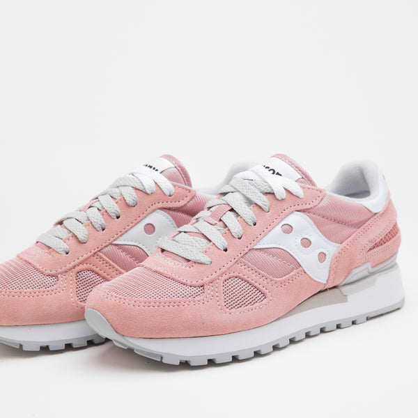 SAUCONY SHADOW ORIGINALS PINK/GREY - Sneaker Pumps