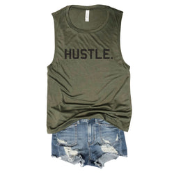 Sale! Hustle Army Muscle Tee