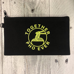 Together Pho Ever ... Zip Makeup / Change Pouch
