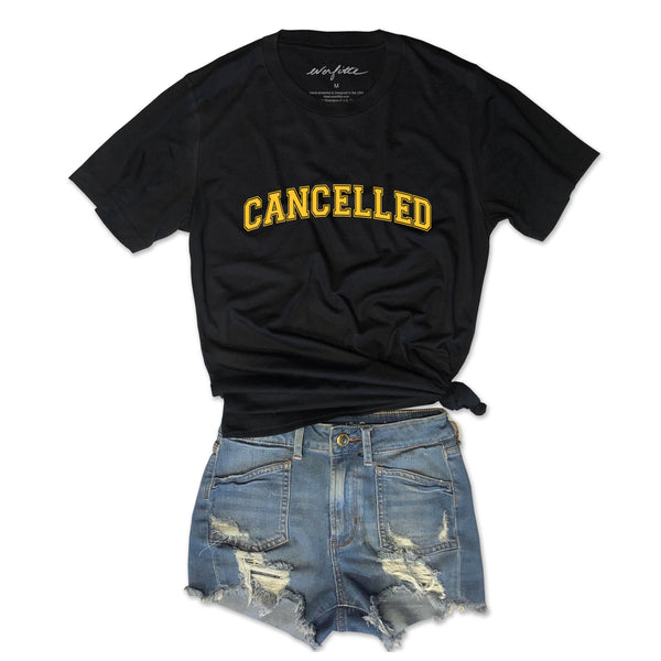 CANCELLED ... Unisex Black Triblend Tee
