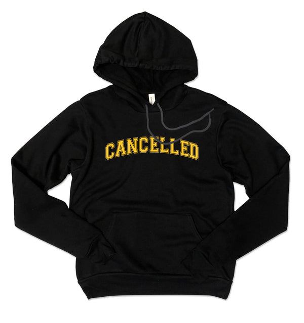 CANCELLED ... Black Unisex Super Cozy Hooded Champion Brand Sweatshirt-Everfitte-[drinking shirt]-[alcohol shirt]-[bachelorette party]-[bridal party]-[funny shirt]-[funny tee]-[shirt with words]-[coffee in the shower]-[lululemon]-[chaser]-Everfitte
