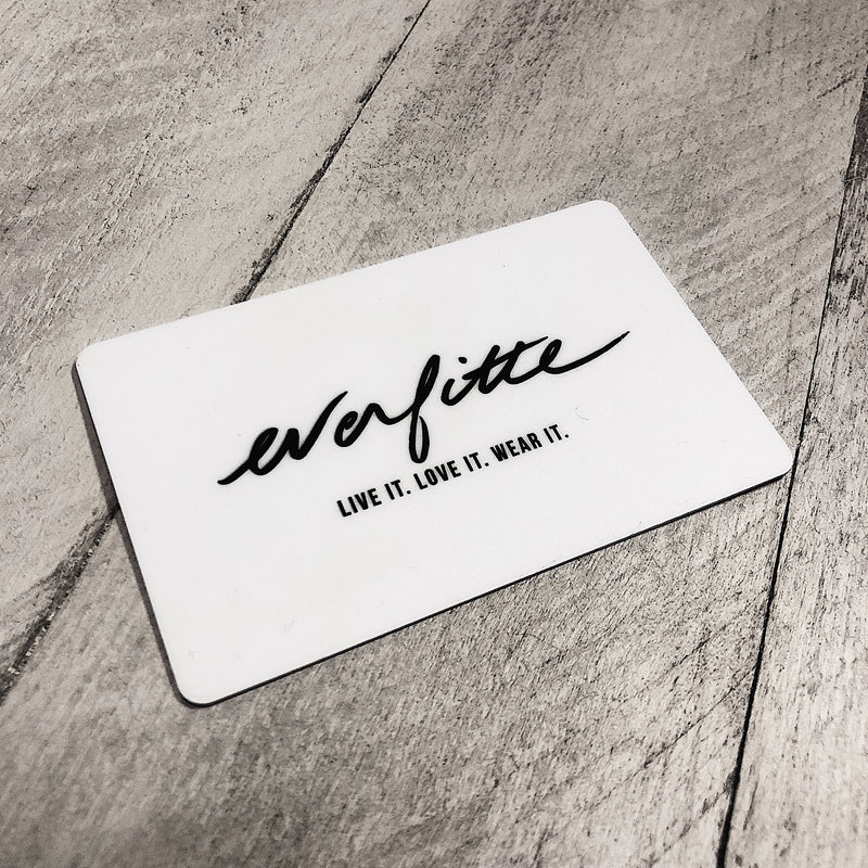 Everfitte Physical Gift Card