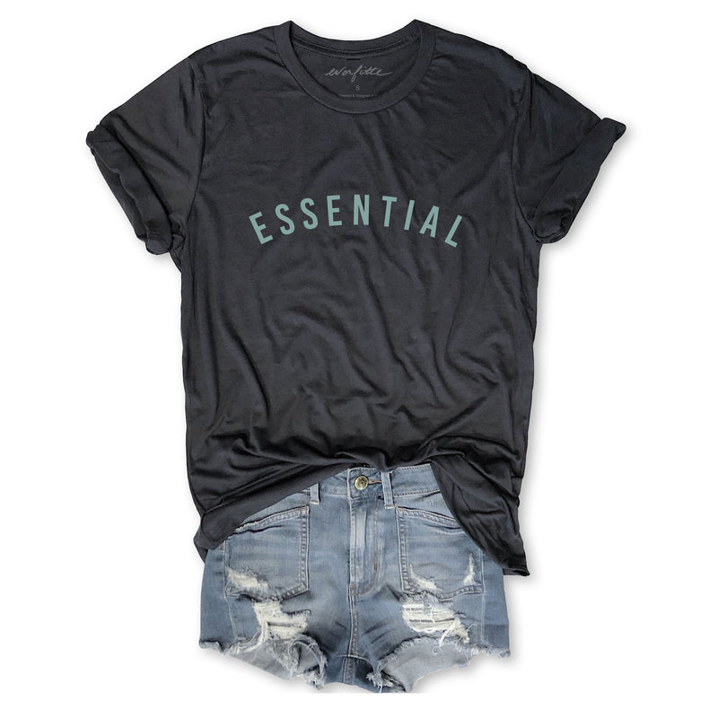 ESSENTIAL ... Funny Unisex Dark Grey Triblend Tee-Everfitte-[funny family shirt]-[drinking shirts]-[bachelor shirt]-[bachelorette party tees]-[bridal party shirt]-[bridal party tee]-[group drinking tees]-[funny vodka shirt]-[funny tequila tee]-[funny tequila tshirt]-[funny whiskey tshirt]-[funny drinking shirt]-[tequila t-shirt]-[vodka t-shirt]-[whiskey t-shirt]-Everfitte