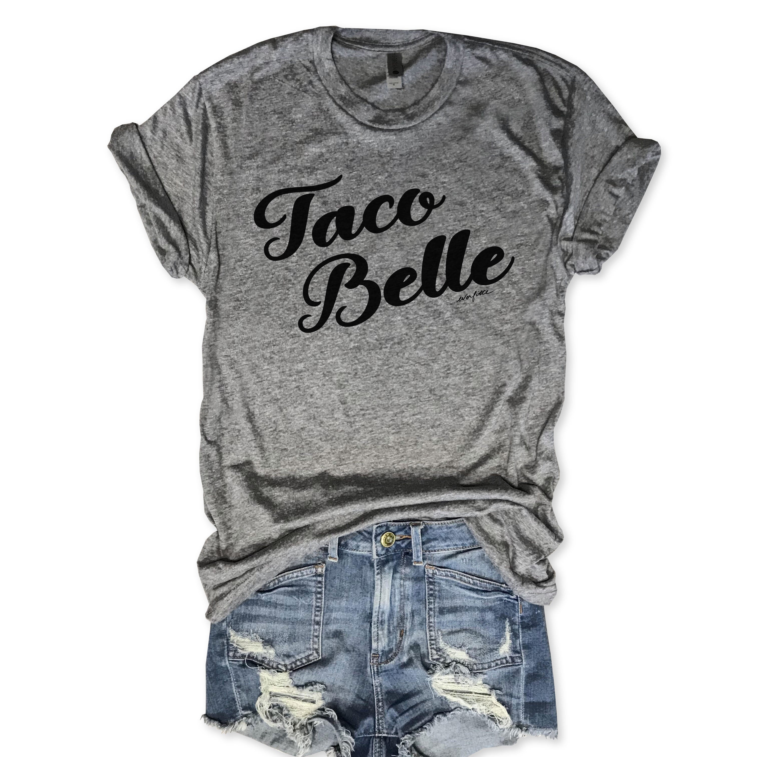 Taco Belle Unisex Triblend Tee