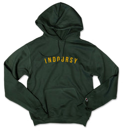 INDOORSY ... Hunter Green Champion Brand Unisex Hoodie-Everfitte-[drinking shirt]-[alcohol shirt]-[bachelorette party]-[bridal party]-[funny shirt]-[funny tee]-[shirt with words]-[coffee in the shower]-[lululemon]-[chaser]-Everfitte