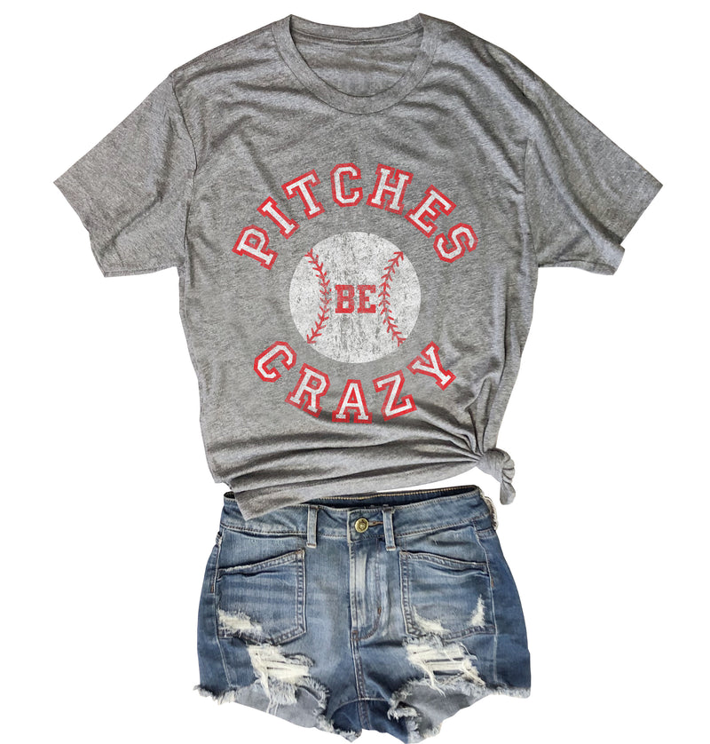 funny baseball t-shirt, vintage baseball shirt, retro, t shirt, baseball mom, tee, Pitches be crazy shirt, Pitches be crazy t shirt, vintage baseball t shirt, red sox shirt, NY yankees shirt,