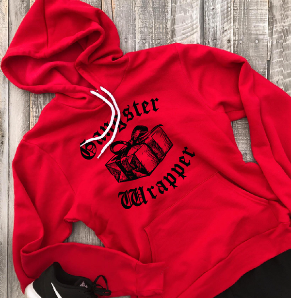 Gangster Wrapper ... Unisex Super Cozy Hooded Sweatshirt