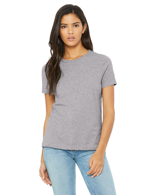 SALE! GOLDEN State of Mind ... Women's White Relaxed Slouchy Basic Tee